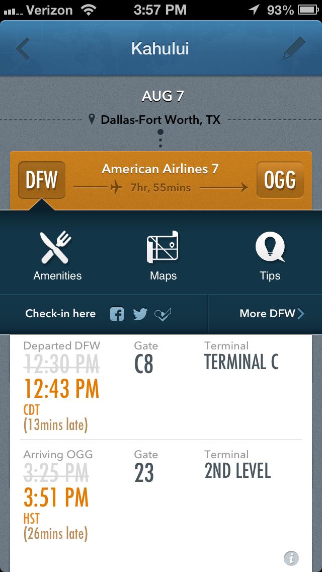gateguru flight status