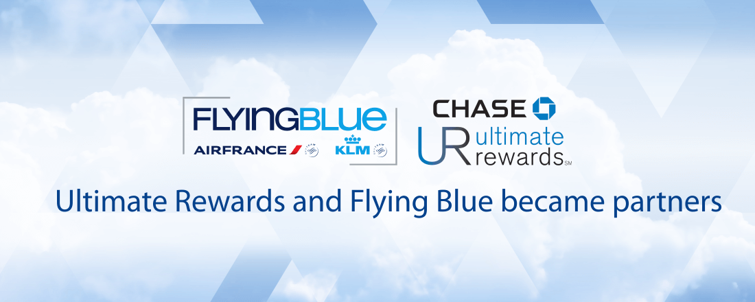Chase Ultimate Rewards partners with Flying Blue