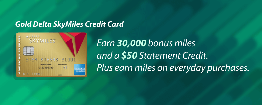 Earn SkyMiles from American Express for every dollar you spend on that retail purchase