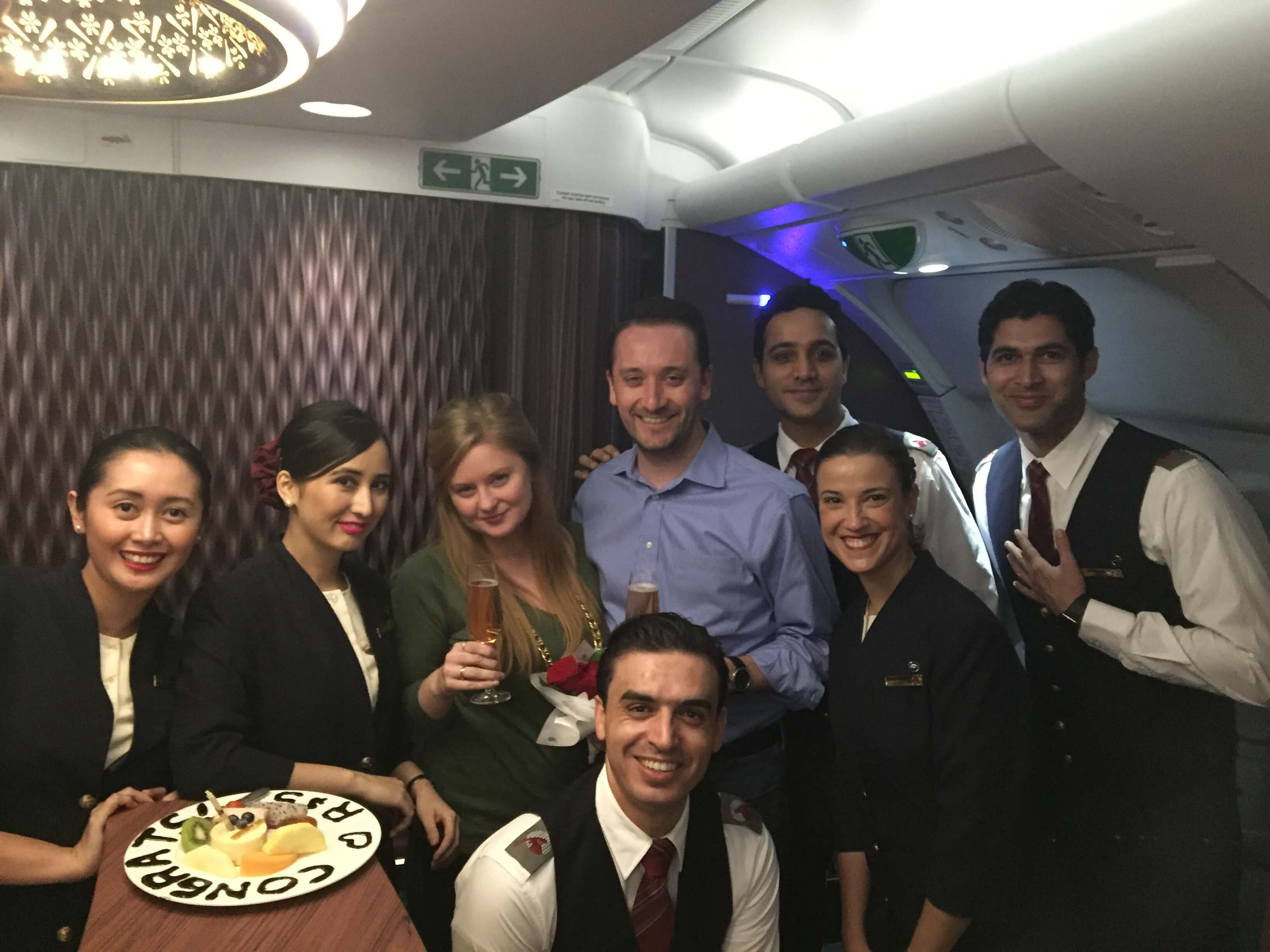 Qatar's crew