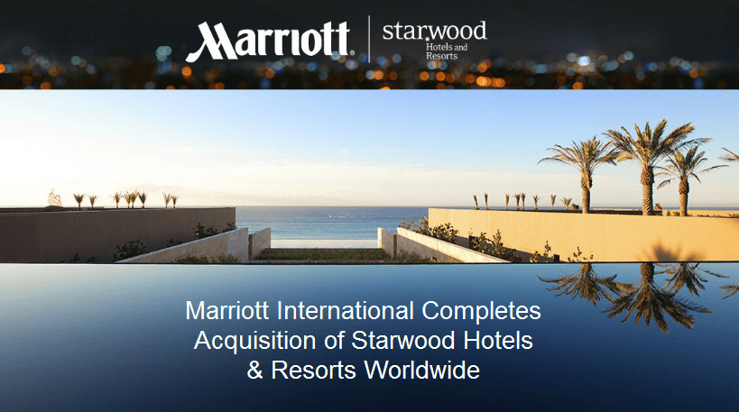 marriott merger