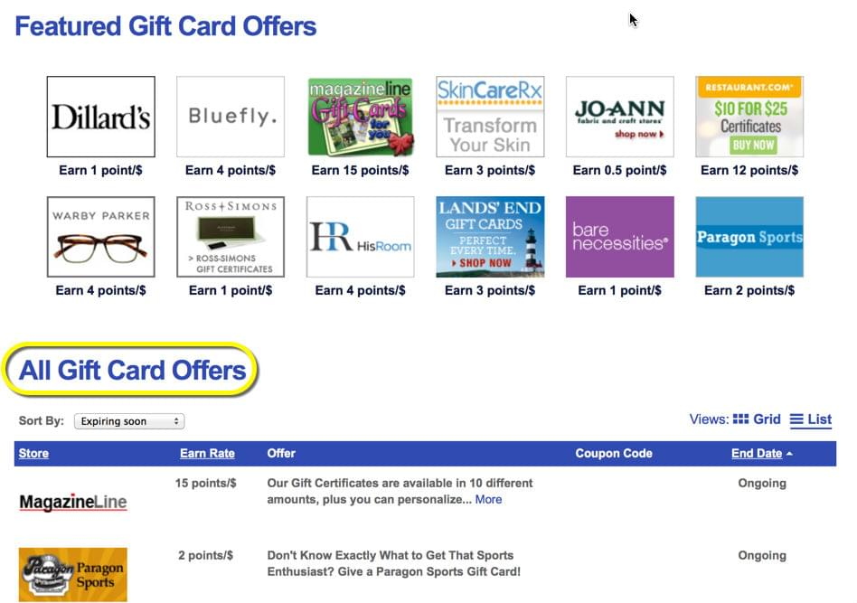 Southwest Rapid Rewards Shopping guide Using Southwest's online shopping portal is a great way to earn extra points on purchases you would make anyway.