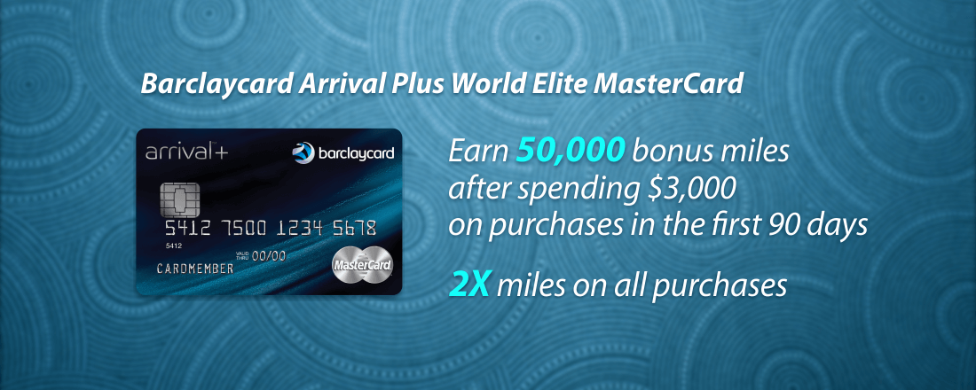 Barclaycard Arrival Plus World Elite MasterCard rewards