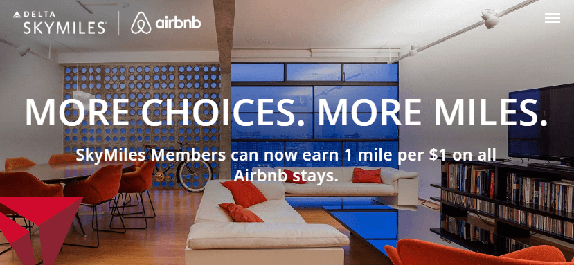 Earn Delta SkyMiles with Airbnb