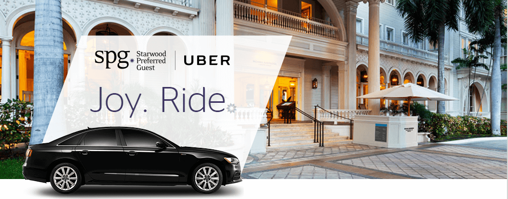 Changes coming to Starwood and Uber partnership