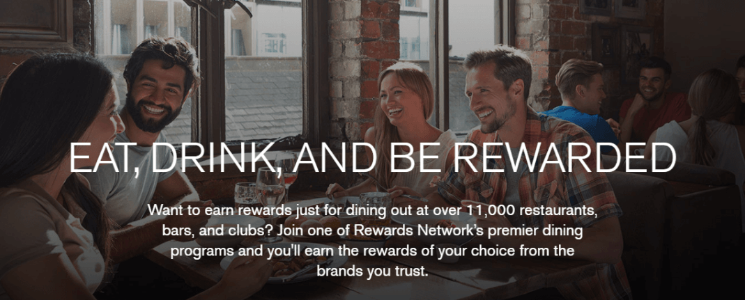Get rewards for dining