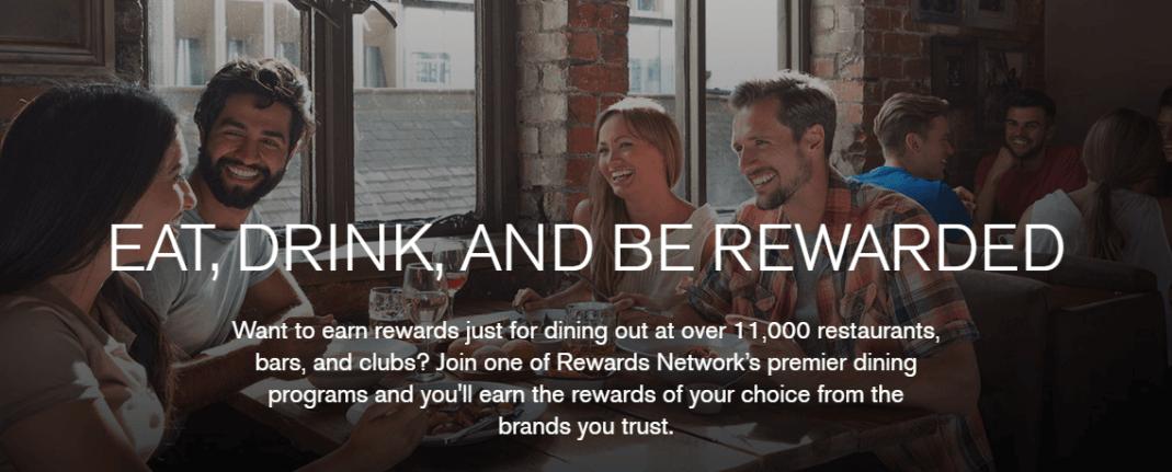 Get rewards for dining