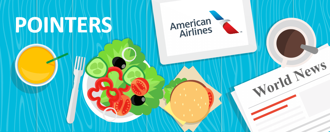 American Airlines Inflight Dining Program