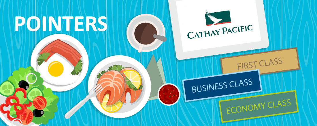 Cathay Pacific dining program