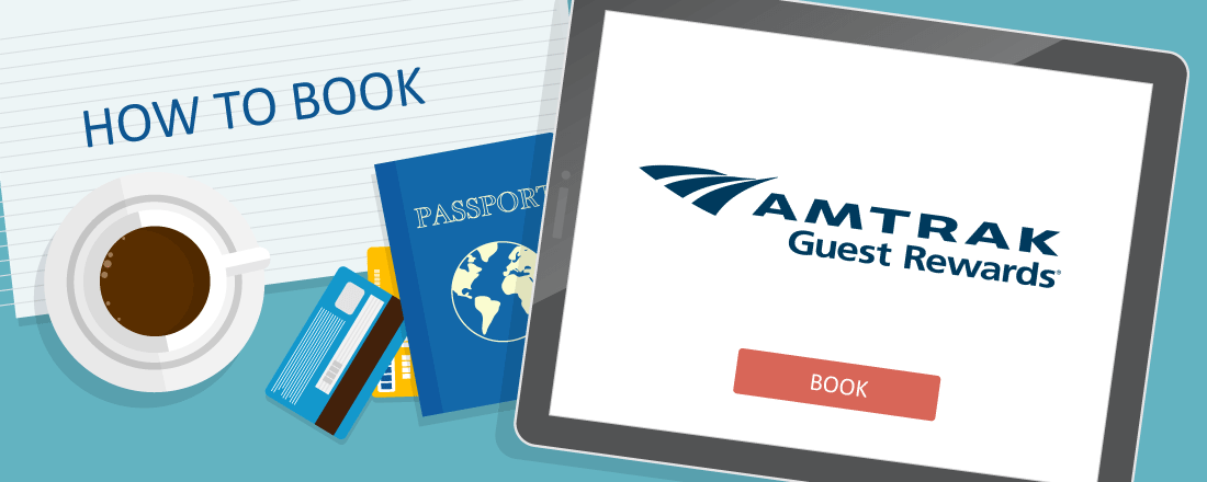 How to Book Amtrak Guest Rewards