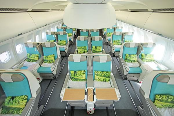 Comparing Air France And Air Tahiti Nui S Business Class