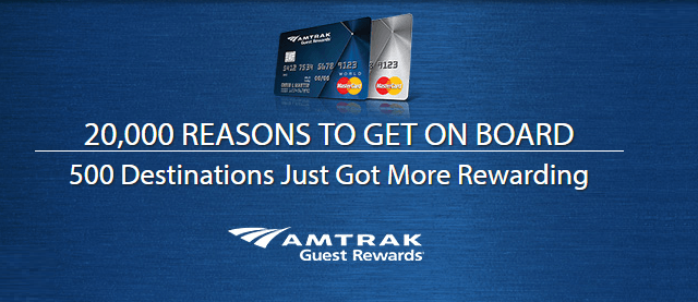 amtrak credit cards