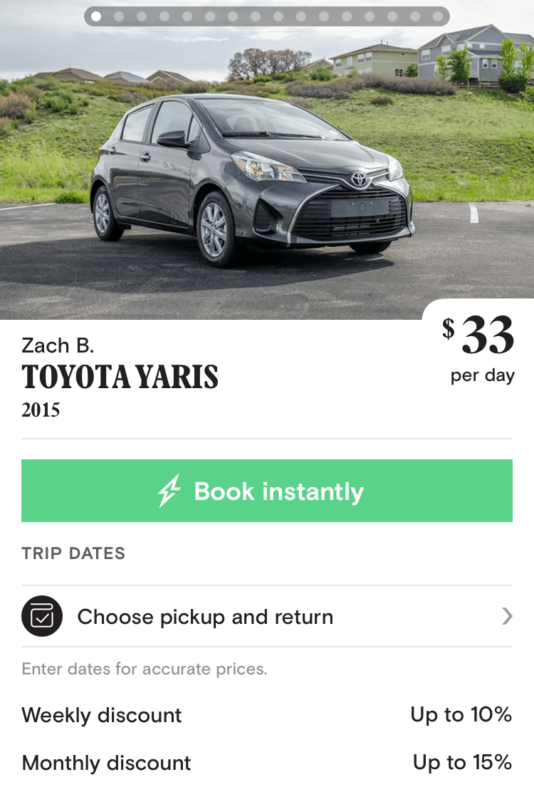 turo cars