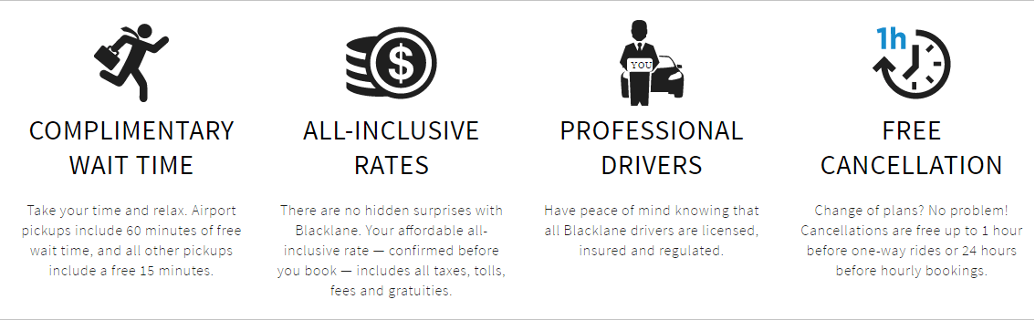 Blacklane's Benefits