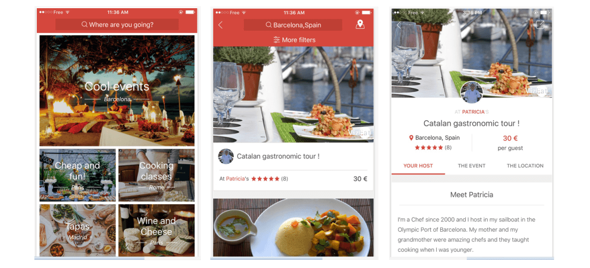 Download VizEat app and enjoy food with locals in 110 countries