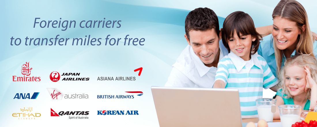 Foreign airlines allowing free pooling or transfers