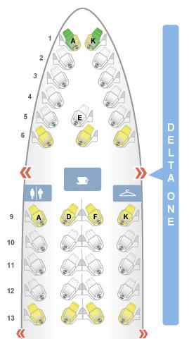 Delta One cabin