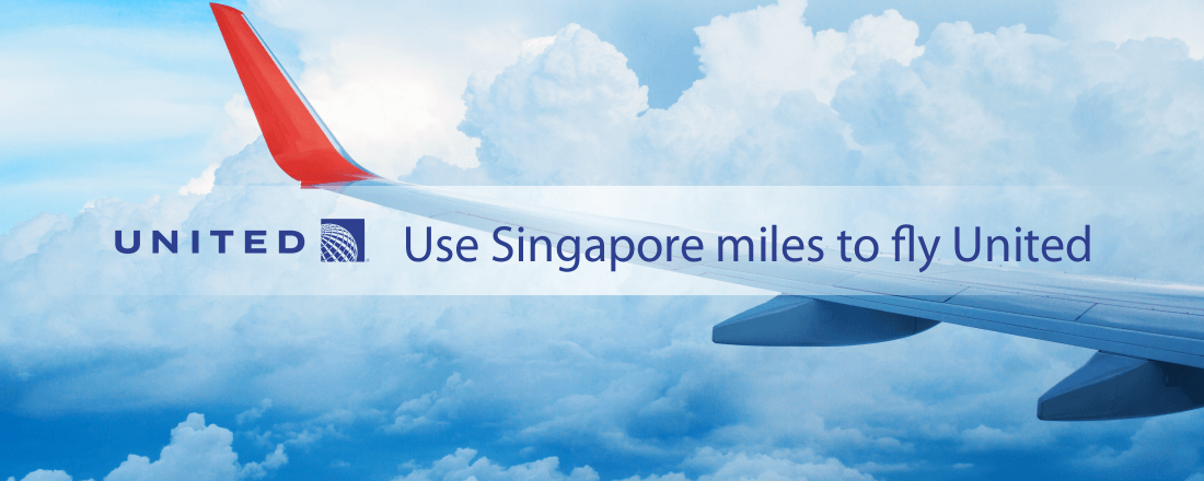 Use Singapore KrisFlyer miles to fly United