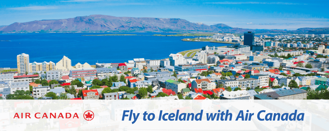 Fly to Iceland with Air Canada
