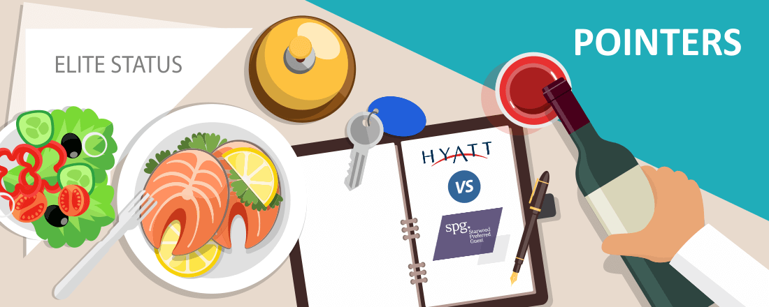 Comparing Top-Tier Hyatt and Starwood Elite Status