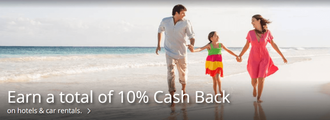 Earn 10% cash back on booking through Chase Ultimate Rewards
