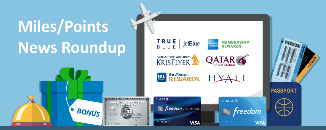 Free Miles for New JetBlue Flyers and Expanded Perks for Best Western Rewards Elites