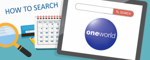 Where To Search For Award Space for Flights on Airlines in the Oneworld Alliance