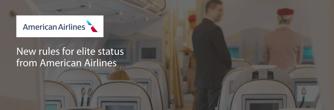 New rules for elite status from American Airlines