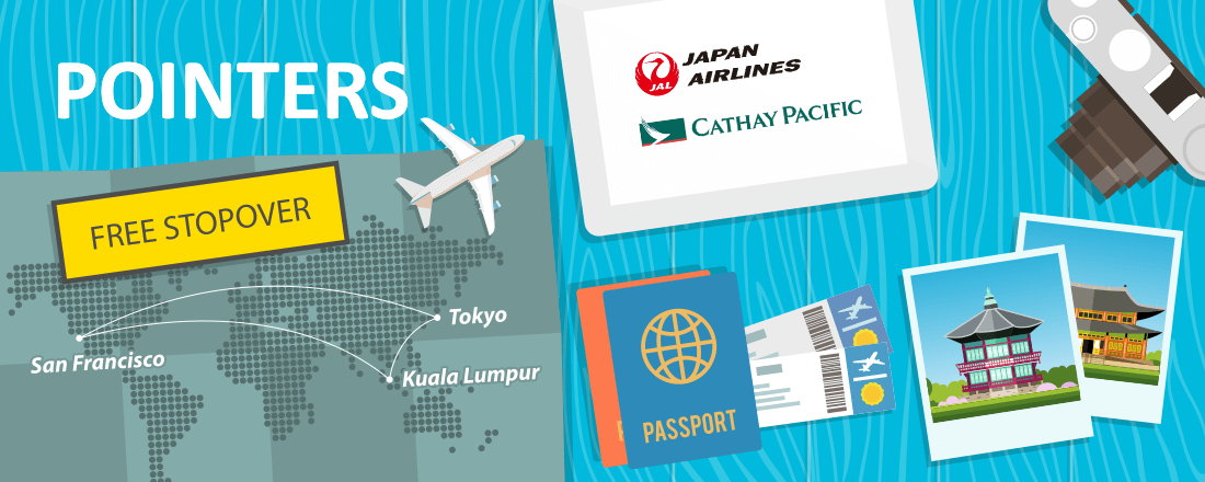 The Kings of Stopovers: Japan Airlines and Cathay Pacific Programs