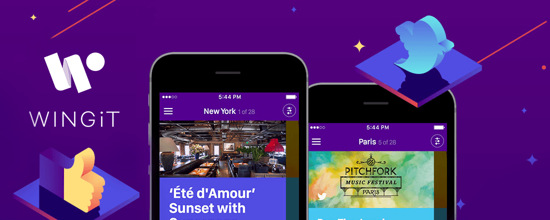 Make Nightlife Plans on the Fly with WINGiT