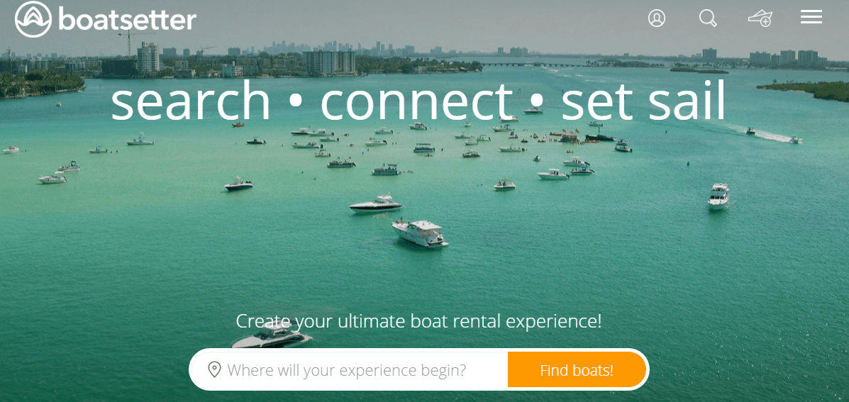 Rent a boat with Boatsetter