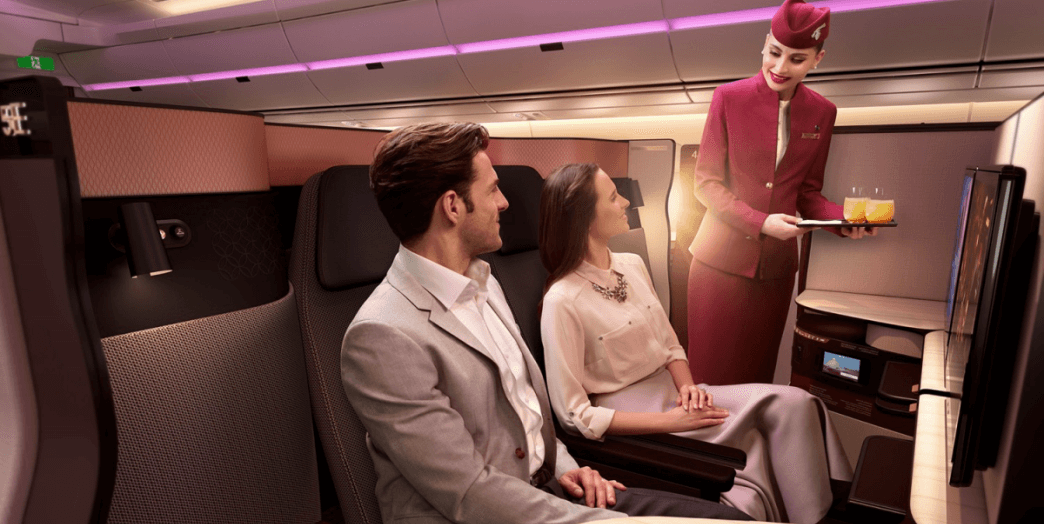 "Qatar Airways announced new ""QSuites"" business class"