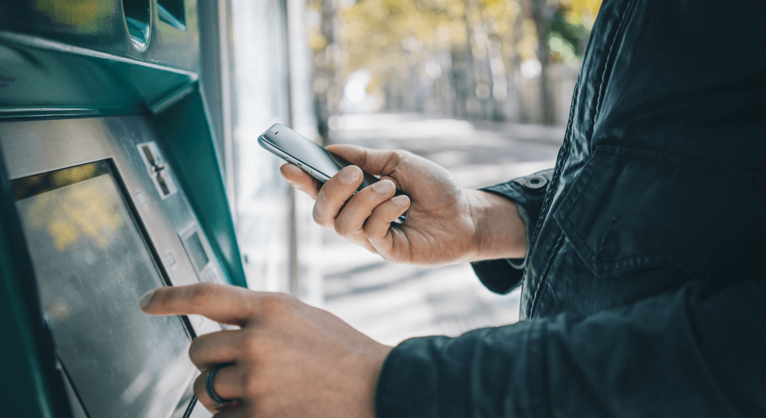 Access your cash virtually wherever you are