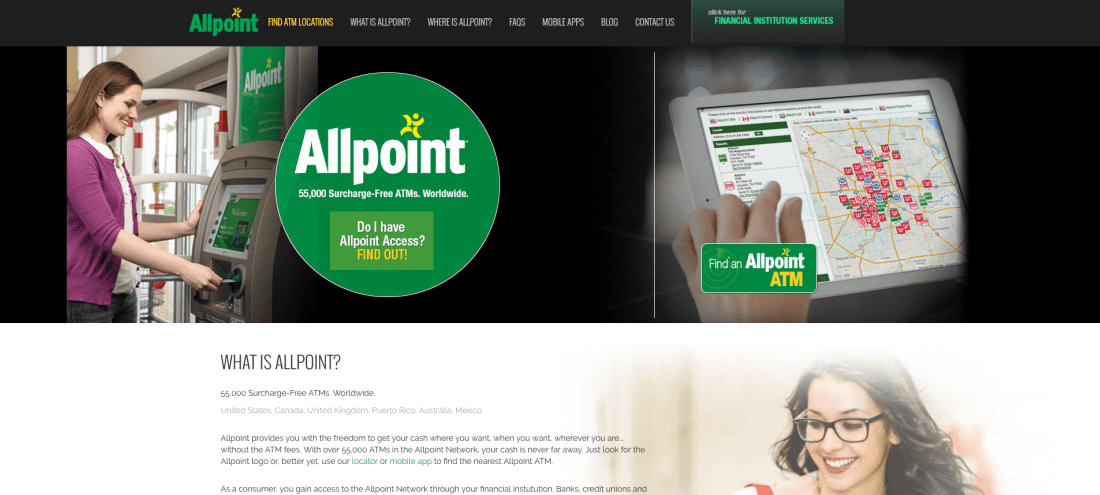 Allpoint Network: Access Your Cash Surcharge-Free While Traveling