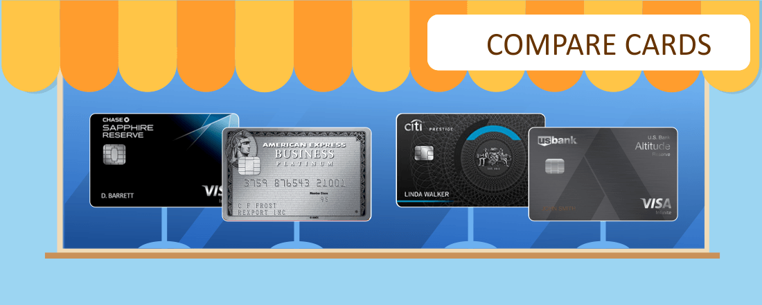 Comparing Premium Travel Rewards Cards