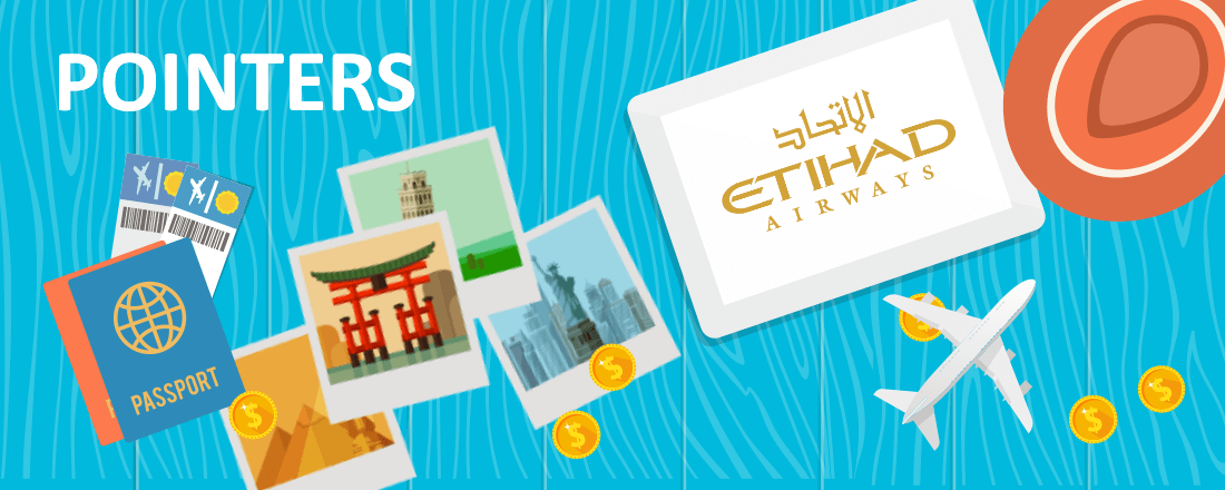 Etihad booking flights
