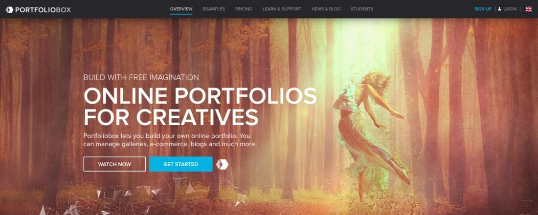 Choose from a wide range of templates for each page type