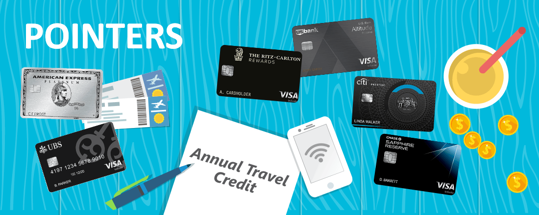 How the Annual Travel Credit on Premium Credit Cards Can Pay Off