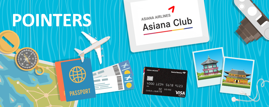 Saving Miles with Asiana Award Bookings