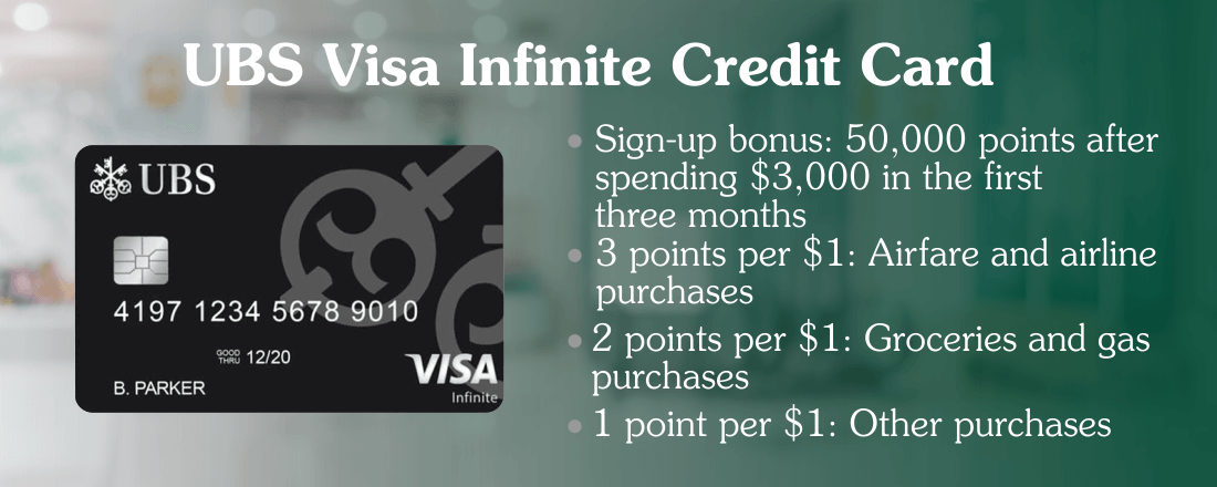 UBS Visa Infinite card