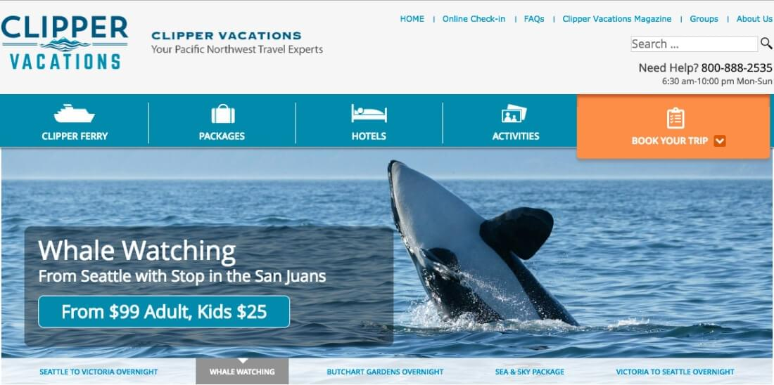 Learn more about company's vacation package options