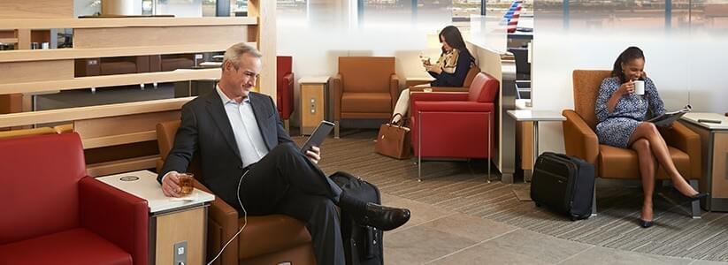 Admirals Club lounge access with Citi Prestige credit card