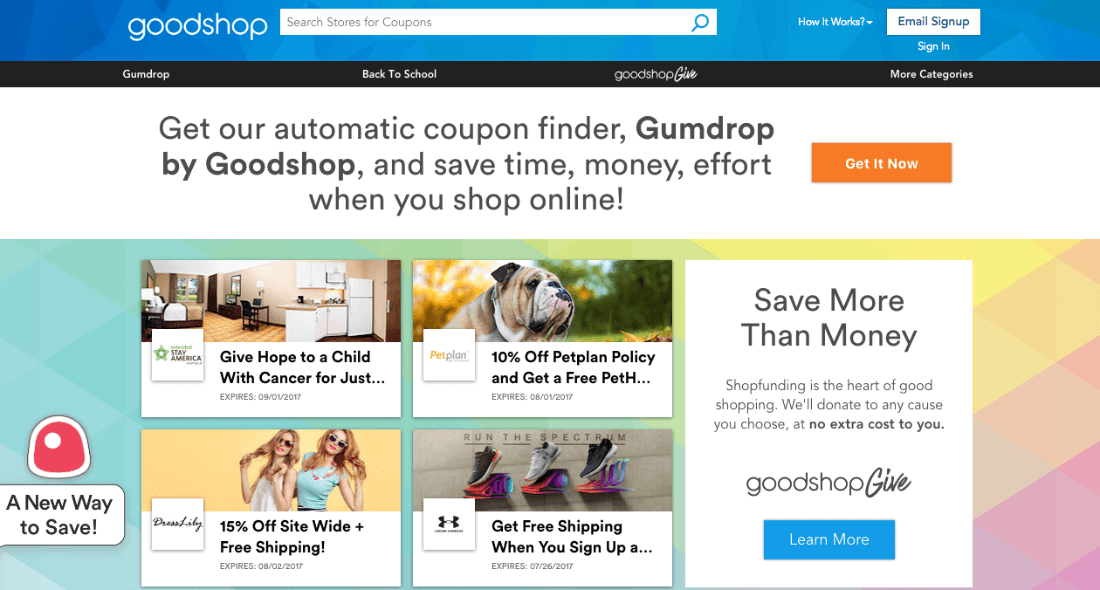Find coupon codes and use them when shopping online
