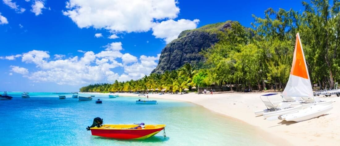 Travel to Mauritius with miles