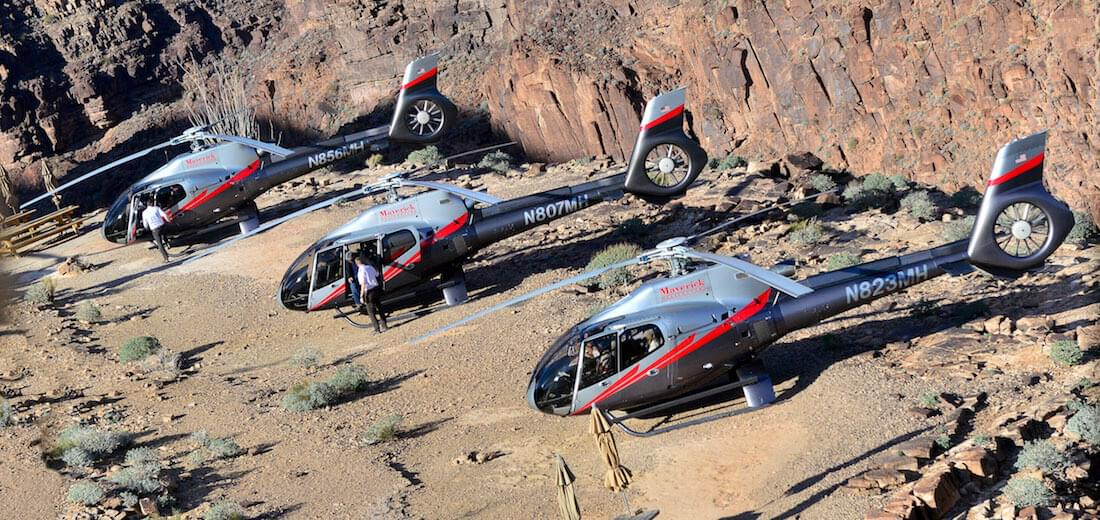 Maverick Helicopters are superior in three key areas
