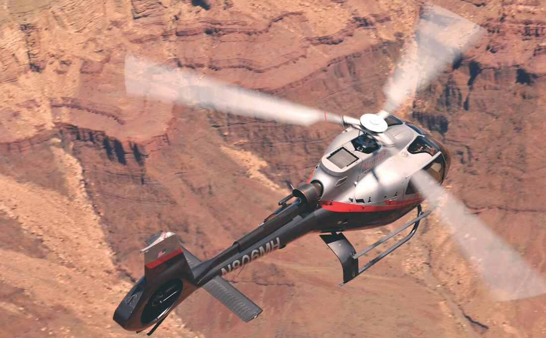 Maverick Helicopters offers more than a dozen experiences to choose from