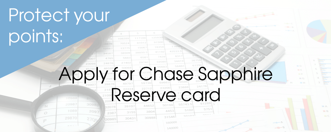 Apply for Chase Sapphire Reserve card