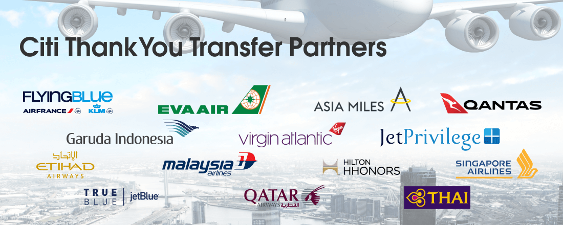 Citi ThankYou Transfer Partners