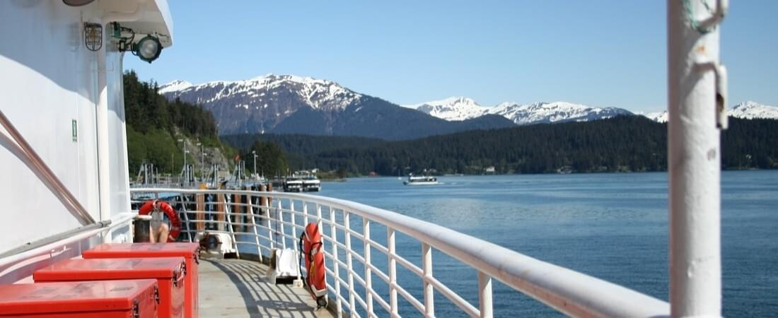 A ferry ride in Alaska