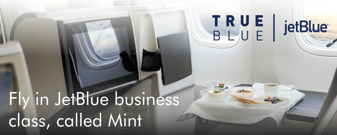 JetBlue has a killer business class product on select flights, called Mint.